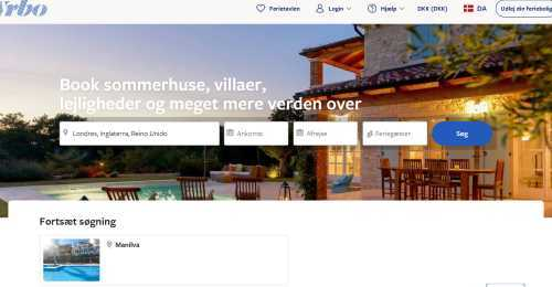 Screenshot HomeAway