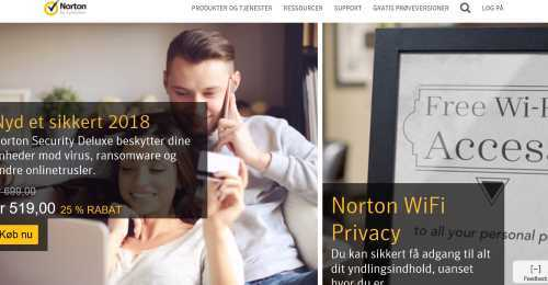 Screenshot Norton by Symantec