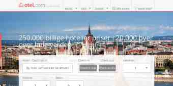 Screenshot Otel.com