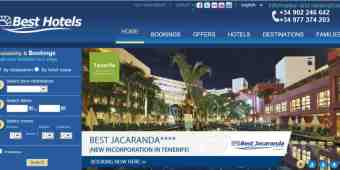 Screenshot Best Hotels