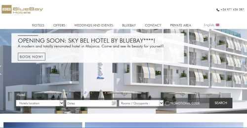 Screenshot Bluebay Hotels