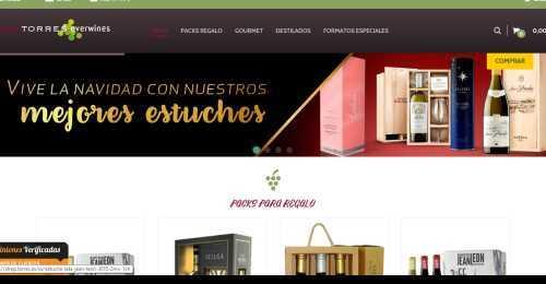 Screenshot Bodegas Torres