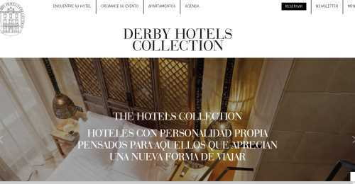 Screenshot Derby Hotels