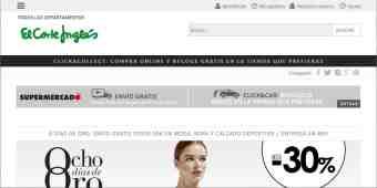 Screenshot El Corte Inglés