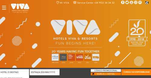 Screenshot Hotels Viva