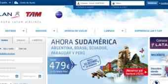Screenshot LATAM Airlines