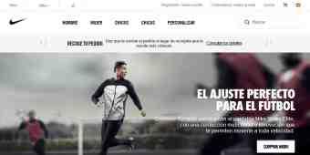 Screenshot Nike Store