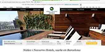 Screenshot NN Hotels