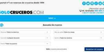 Screenshot SoloCruceros
