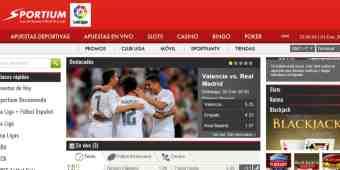 Screenshot Sportium