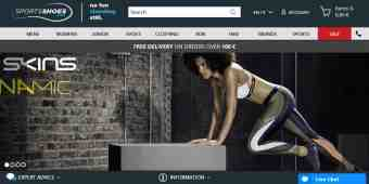 Screenshot SportsShoes