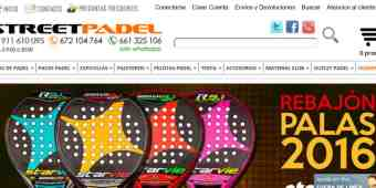 Screenshot StreetPadel