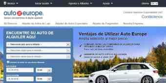 Screenshot Auto Europe