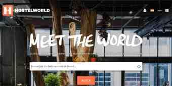 Screenshot Hostelworld