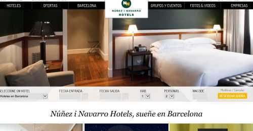 Screenshot NN Hotels