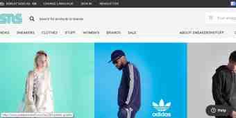 Screenshot Sneakersnstuff