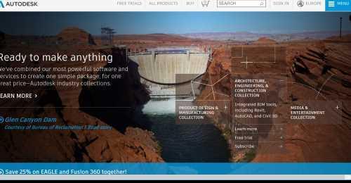 Screenshot Autodesk