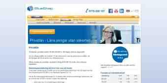 Screenshot BlueStep