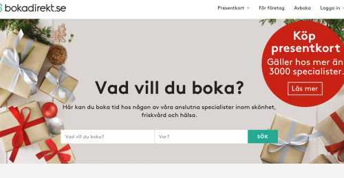 Screenshot Bokadirekt