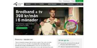 Screenshot Bredbandsbolaget