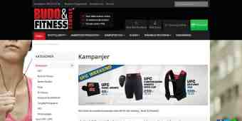Screenshot Budo & Fitness