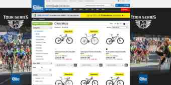 Screenshot Chain Reaction Cycles
