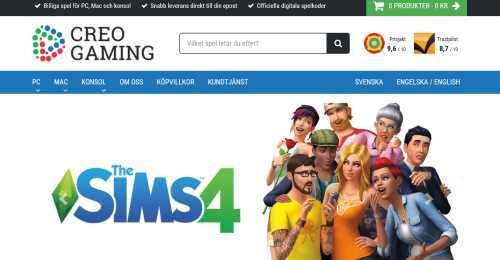 Screenshot Creo Gaming