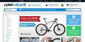 Screenshot Cykelkraft