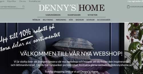 Screenshot Denny's Home