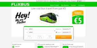 Screenshot FlixBus