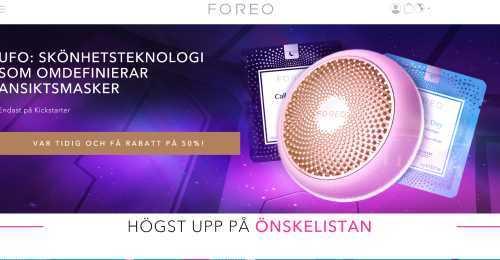 Screenshot FOREO