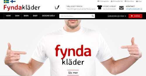 Screenshot Fyndakläder