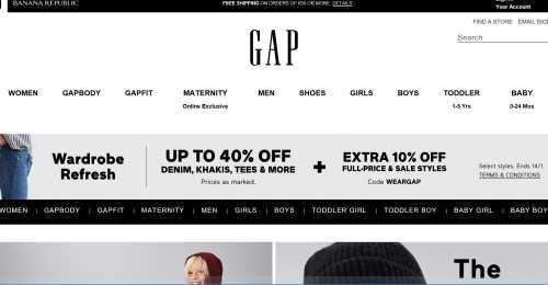 Screenshot Gap