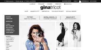 Screenshot Gina Tricot