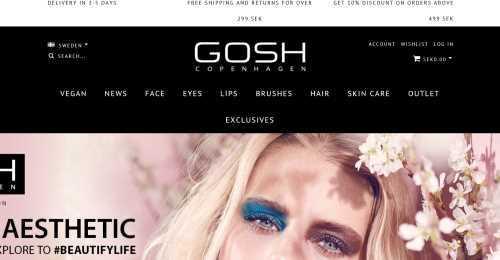 Screenshot GOSH Copenhagen