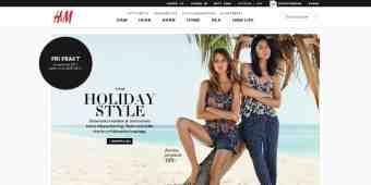 Screenshot H&M