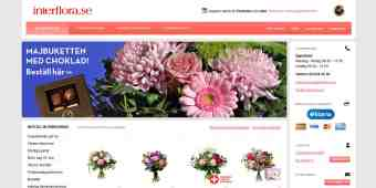 Screenshot Interflora