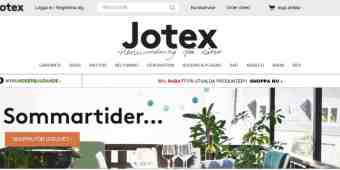 Screenshot Jotex