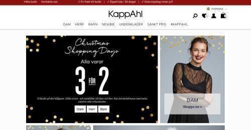Screenshot Kappahl