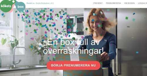 Screenshot Kökets box