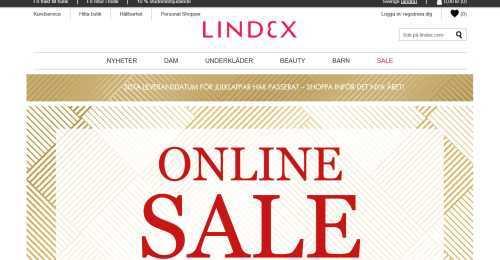 Screenshot Lindex
