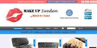 Screenshot Make Up Sweden