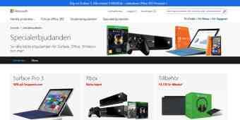 Screenshot Microsoft Store