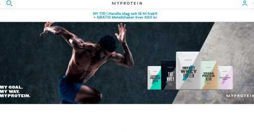 Screenshot Myprotein