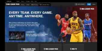 Screenshot NBA League Pass