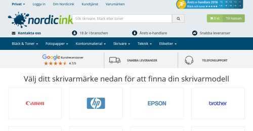 Screenshot Nordicink