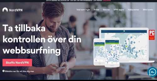 Screenshot NordVPN