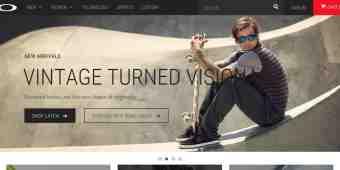 Screenshot Oakley