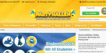 Screenshot Partyhallen