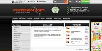 Screenshot Proteinbolaget